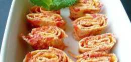 1個西紅柿2個雞蛋,教你早餐新做法,不用水不用面,比包子要好吃
