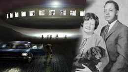 夫婦倆遭遇白光碟形UFO, 神秘消失2小時, 目睹外星人真貌和星圖