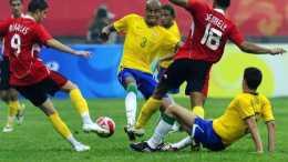 奧運會男足決賽:巴西VS西班牙